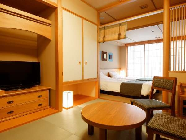 【客室】京和風和洋室/約30㎡/寛ぎの和室と洋室を設えた和モダンな客室。(定員2~4名)