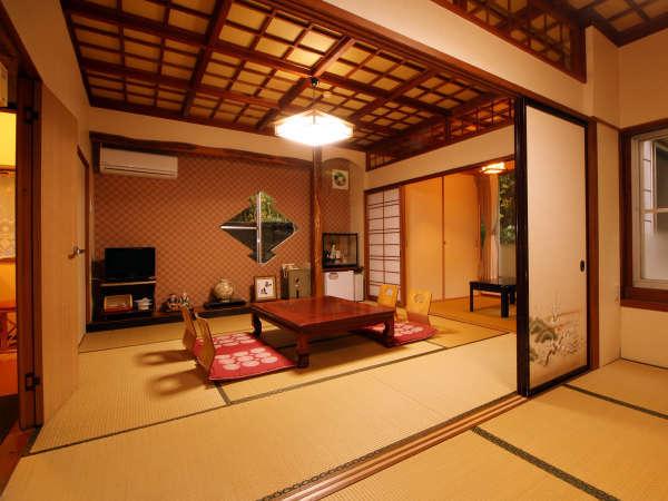 【高砂】10畳BT付 次の間+広縁+洗面・トイレ・バス 贅沢な造りの客室となっています