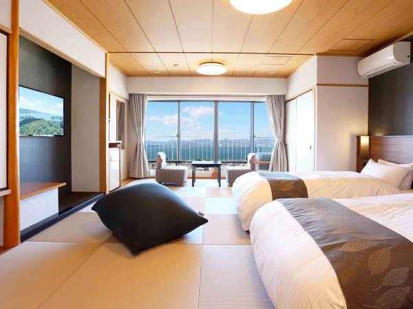 【ホテル ウェルシーズン浜名湖】令和3年3月、浜名湖を望む和洋室『レイクビューステイ』誕生!