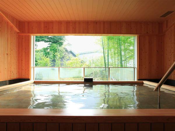■ひとと季の湯/ご宿泊の方だけの専用ですのでゆっくりお入りいただけます