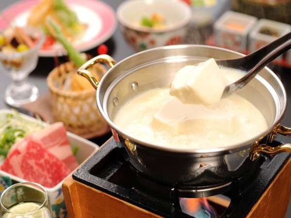 豆腐懐石 猿ヶ京ホテル