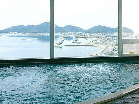 【大浴場】眺めも最高です!