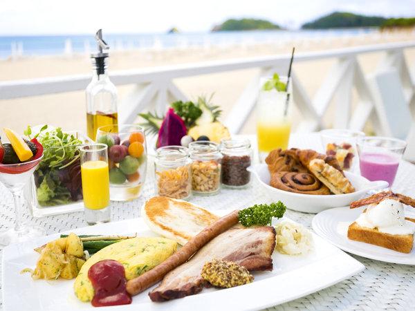 グランドコテージ宿泊のお客様限定のプレミアムな朝食、それがアメリカンブレックファースト。