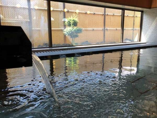 温泉大浴場から富士は望めませんが、庭園を望むことが出来る『心の華』2021年5月に改装しました