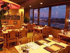 レストランから尾道を一望できます。