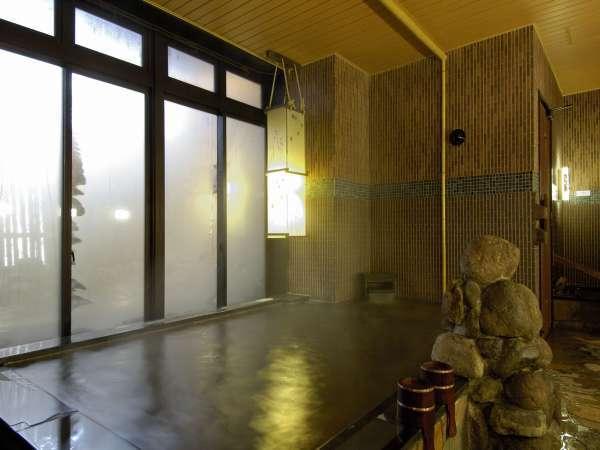 ◆【大浴場】『男性内湯』大浴場は15時から翌朝9時まで夜通しご利用頂けます。