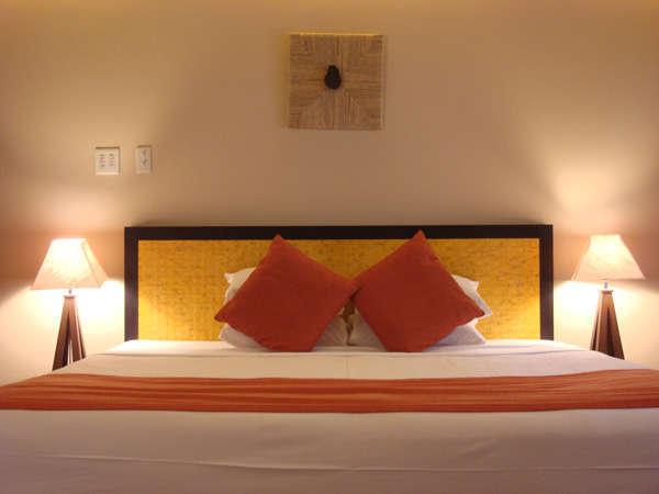 *オーナーのこだわり、「世界のベッド」と評されるシモンズベッド、是非ご堪能下さい。