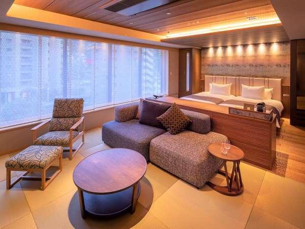 和モダン客室12畳(ベッド付)◆禁煙◆