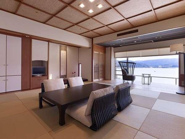 エグゼクティブルーム・サンライズ★琉球畳でお洒落な和室 客室によりインテリアが異なります