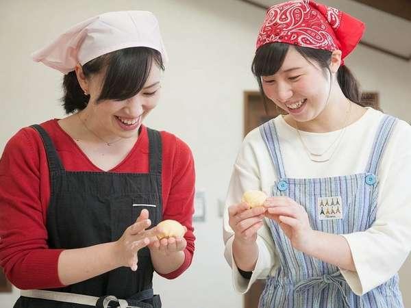 パン作り②こねて、形を作って、美味しくできるかな?