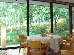 初夏-レストランからの風景