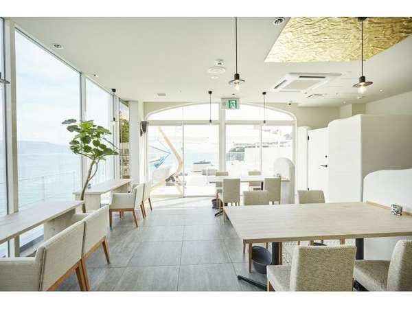 レストラン「カロスオーシャン」から和歌浦湾