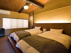 2F寝室(ツインベッドルーム)
