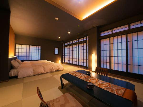 【リニューアル和洋室】2017年に生まれ変わったお部屋♪<睡眠はベッド派>の方も安心