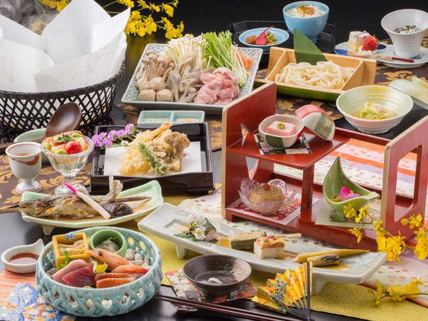 【月見亭】御夕食イメージ ※内容は仕入れ状況や季節により変わります