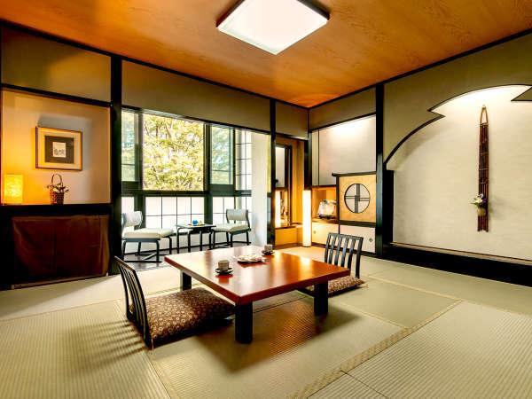 """【木楽館-和室10畳以上-】""""どこかホッとする""""和空間ならではの落ち着きを。"""