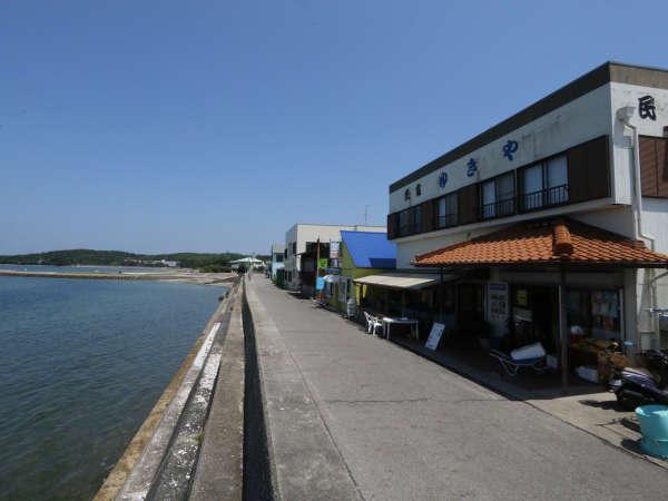『体験食堂民宿ゆきや』は、定置網体験と海鮮BBQの宿。佐久島の新鮮な海の幸をお楽しみください