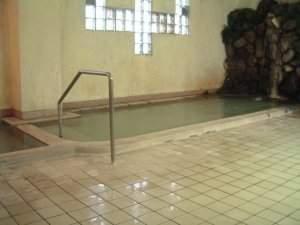 天然温泉 かけ流しの湯