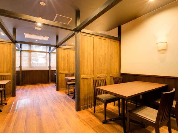 新しいお食事処「和み」がオープン!半個室空間でゆったりお食事を召し上がれます♪