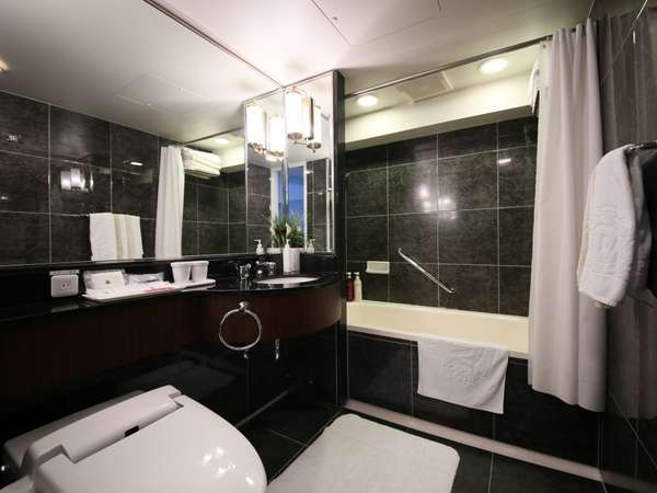 ■セミスイートルーム バスルーム