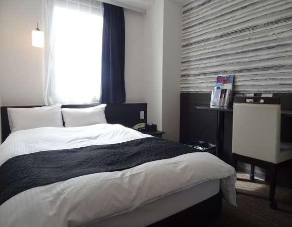 客室】セミダブルルーム 全室無線LAN(Wi-Fi)、有線LAN完備