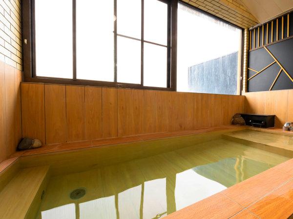 ■リニューアル桧風呂■~美人の湯といわれる天然温泉をゆっくりとお楽しみ下さい~