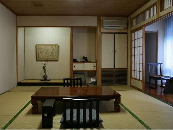 お部屋の一例。一室ごとに間取りやデザインが異なります。