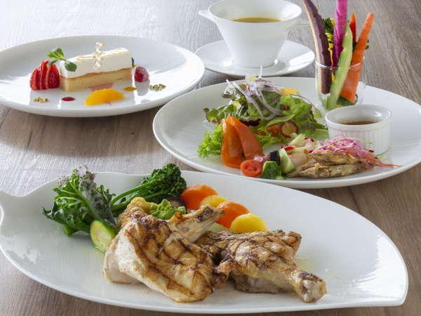 洋食のディナーセミブッフェコース(アクアコース)のイメージ