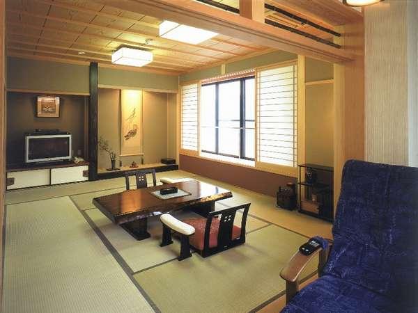2部屋限定の最上階温泉露天風呂付客室