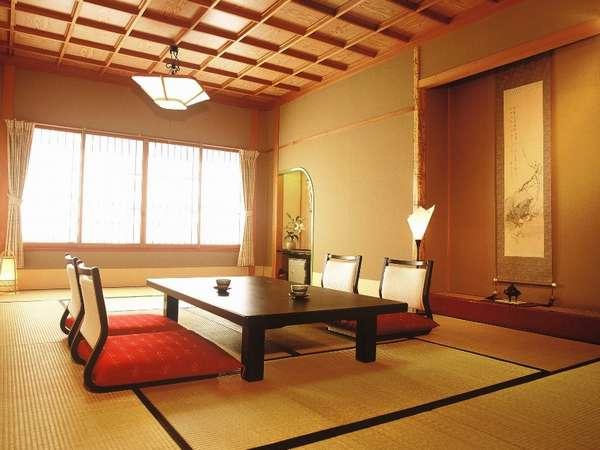 古代檜の内風呂付和室 10畳、12畳、12.5畳の3タイプ