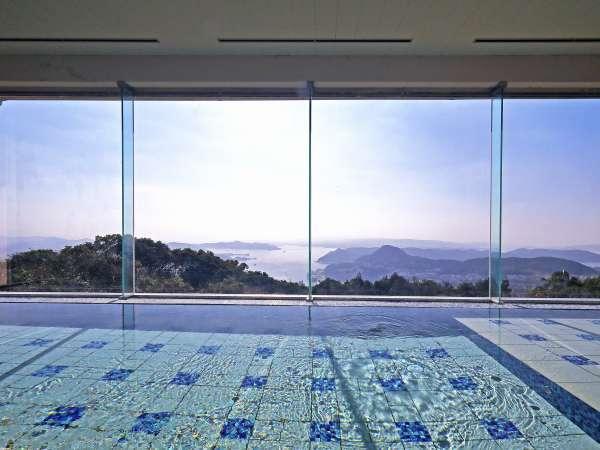 展望浴場からの眺望