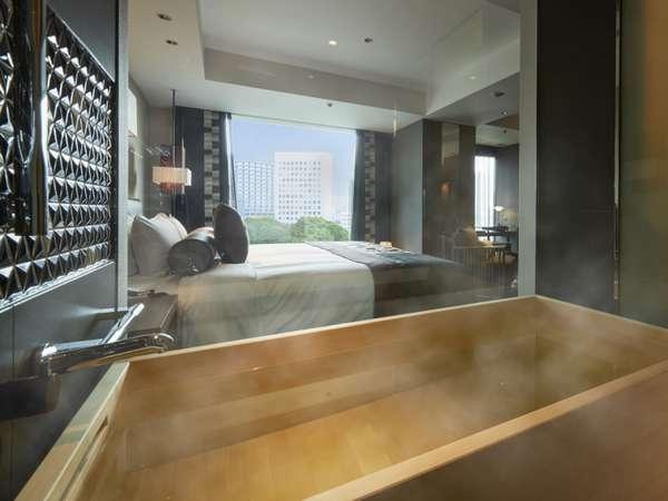 【ザ・メイン】新江戸デラックスルーム(一例)~ひのき風呂でゆっくりとおくつろぎください~