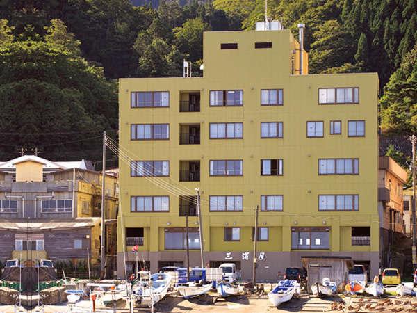 【外観】津軽海峡に面した、閑静な立地です。