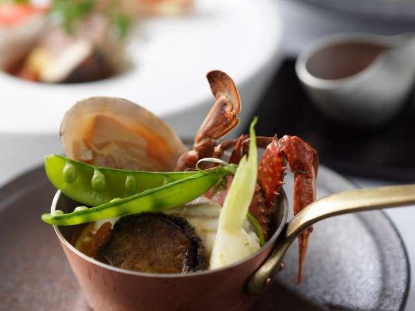 ◆ディナー/一皿一皿の質にもこだわったフレンチコース<ピリカ>(イメージ)