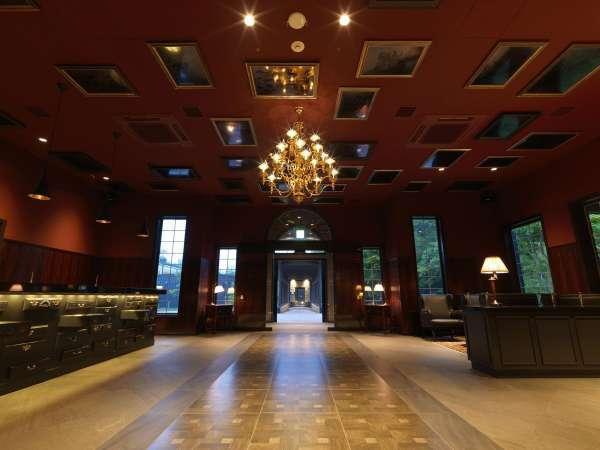 ◆ロビーラウンジ/大人の空間をイメージした宿泊ゲスト専用ラウンジ