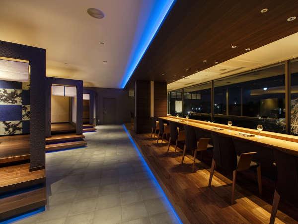 【Blue Seasons】カウンター席と個室のお席もご用意しております。