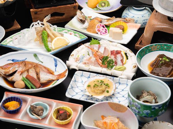 *【寛洋プラン/全14品】旬の魚介を一番美味しい食べ方でご提供します。