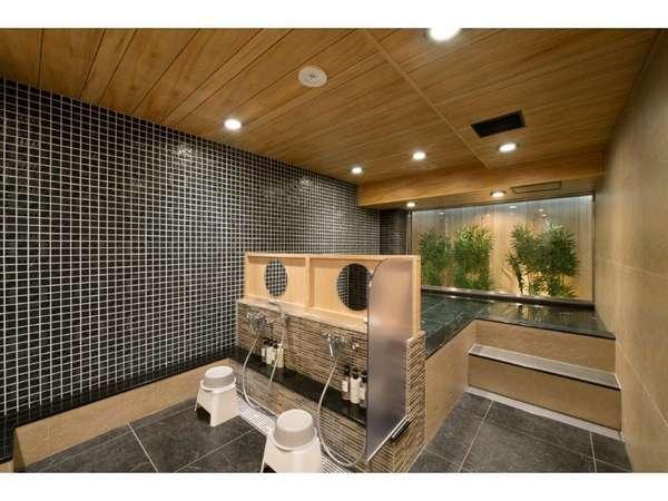 大浴場 炭酸カルシウム温泉