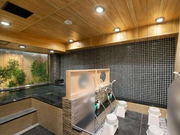 大浴場(女湯) 炭酸カルシウム温泉でぽっかぽか♪