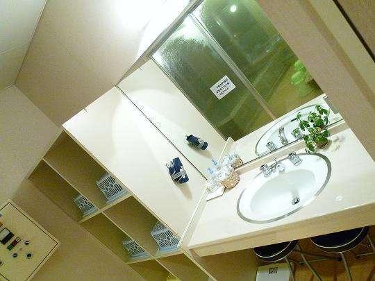 展望浴場洗面所◆備え付けドライヤーあり