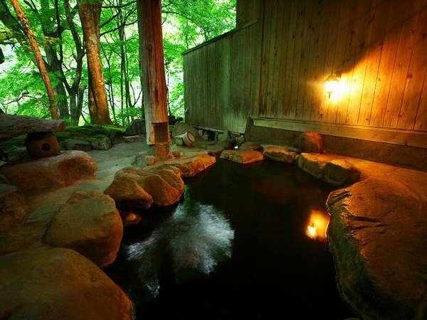 貸切露天風呂「縁の湯」は 空いていれば何時でもご利用いただけます