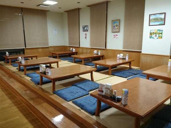 レストラン清樹苑・座敷席(※小さいお子様用のイスも用意しております。)