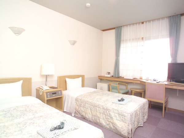 宿泊棟洋室ツインルーム