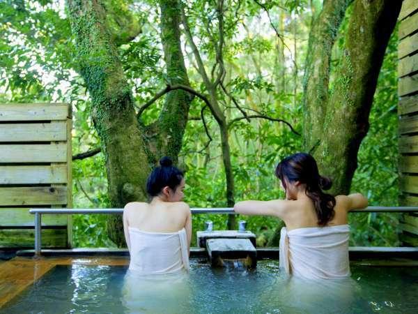 ■貸切露天風呂/指宿温泉特有の泉質を大切な人と~。