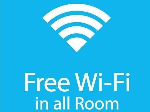 【Free Wi-Fi】全室無料接続