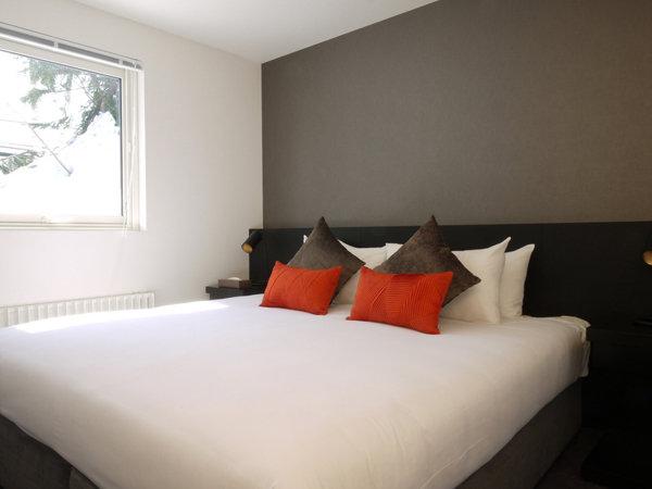【部屋例】ダブルベッドでゆっくりとお寛ぎください