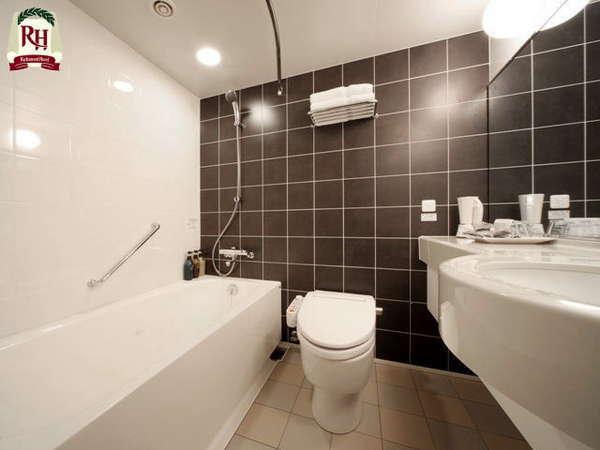 【ハリウッドツイン/コーナーハリウッドツイン/トリプル】バスルーム