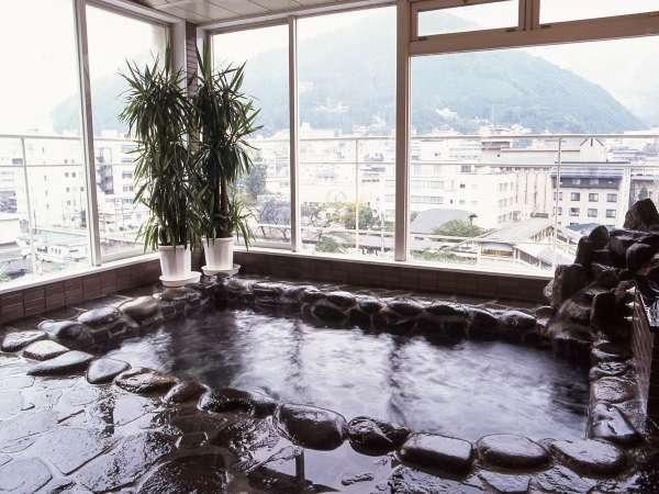 【5階の展望大浴場】下呂温泉(循環ろ過)15時~24時、6時~10時までご利用可