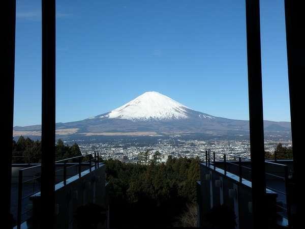 エントランス富士山