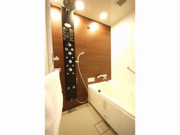 ★広島のホテルでは初の全身ボディシャワーをお楽しみ下さい♪